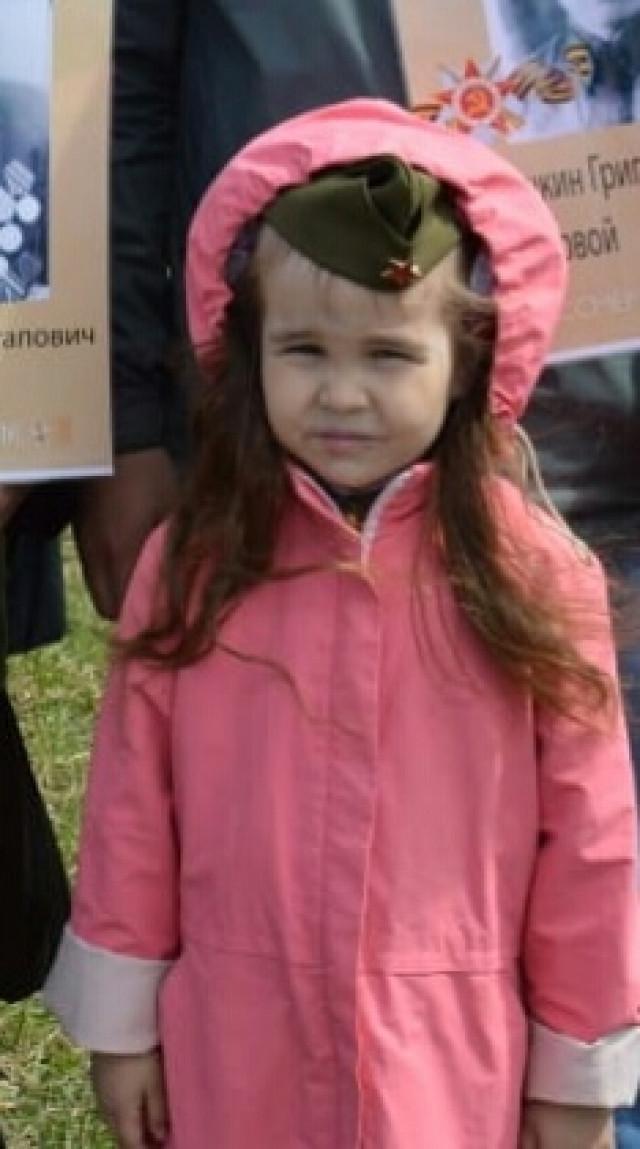 Оля Ямалиева, 5 лет, г. Йошкар-Ола.