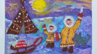Письмо и рисунок от Ульяны Максименко из города Магнитогорска.