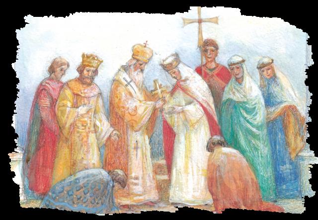 Первая русская святая.