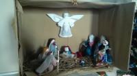Рождественский вертеп от ребят из села Мотызлей.